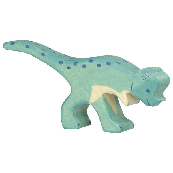 Holztiger Holzfigur Pachycephalosaurus