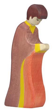 Holztiger Krippenfigur Josef 3
