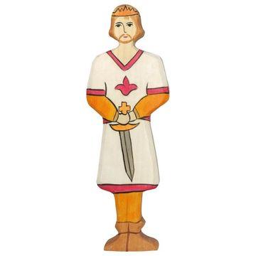Holztiger Holzfigur Prinz