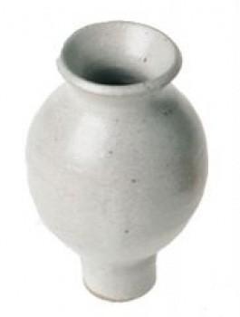 Grimms Stecker Vase, weiß