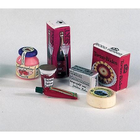 Bodo Hennig Puppenhaus Miniatur Kühlschrankpackung