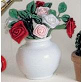 Bodo Hennig Puppenhaus Miniatur Rosenvase