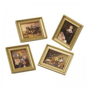 Bodo Hennig Puppenhaus Miniatur Puppenstubenbilder klass.