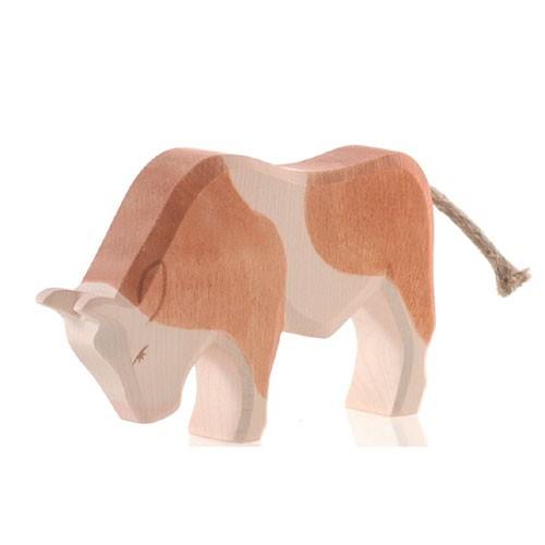 Ostheimer Holzfigur Stier braun
