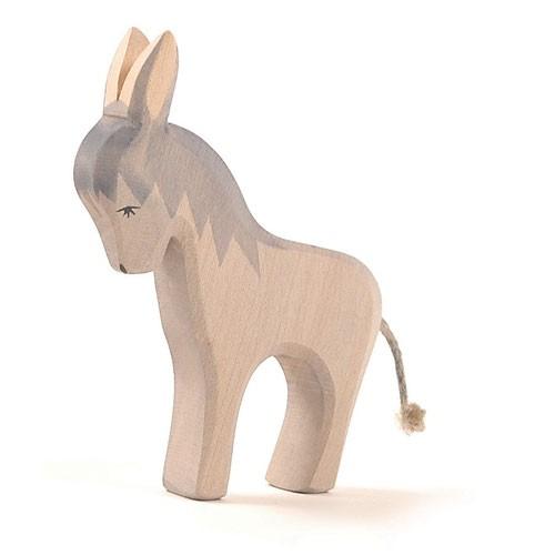 Ostheimer Holzfigur Esel stehend