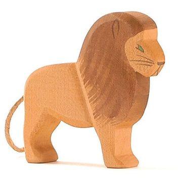Ostheimer Holzfigur Löwe