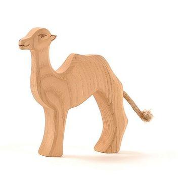 Ostheimer Holzfigur Kamel klein