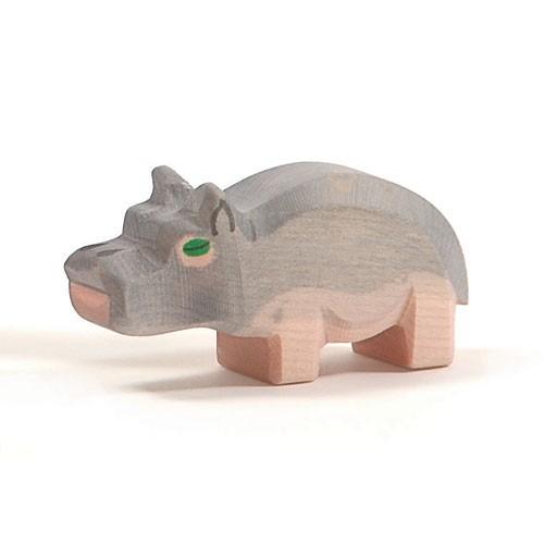 Ostheimer Holzfigur Nilpferd klein