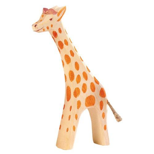 Ostheimer Holzfigur Giraffe groß, laufend