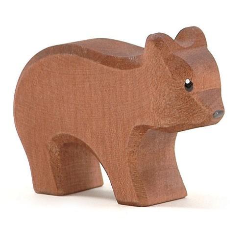 Ostheimer Holzfigur Bär klein, laufend