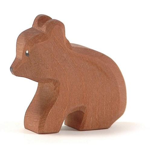 Ostheimer Holzfigur Bär klein, sitzend