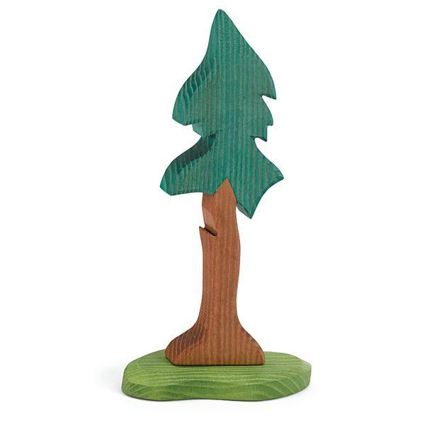 Ostheimer Holzfigur Tanne lang mit Stamm
