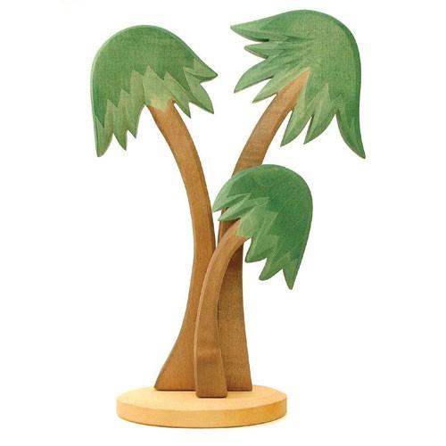 Ostheimer Holzfigur Palmengruppe