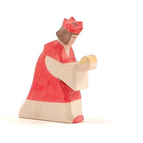Ostheimer Krippenfigur König rot