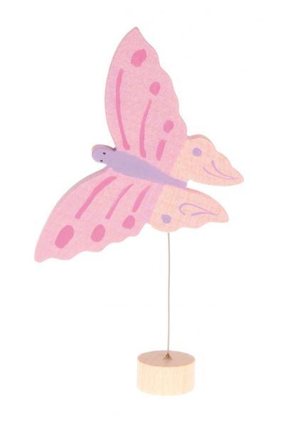 Grimms Stecker Schmetterling rosa