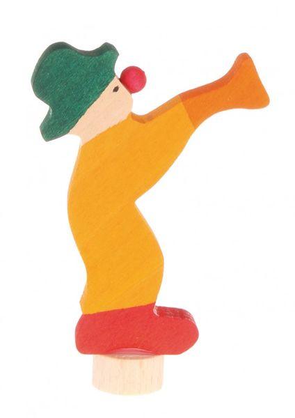 Grimms Stecker Clown versch. Farben