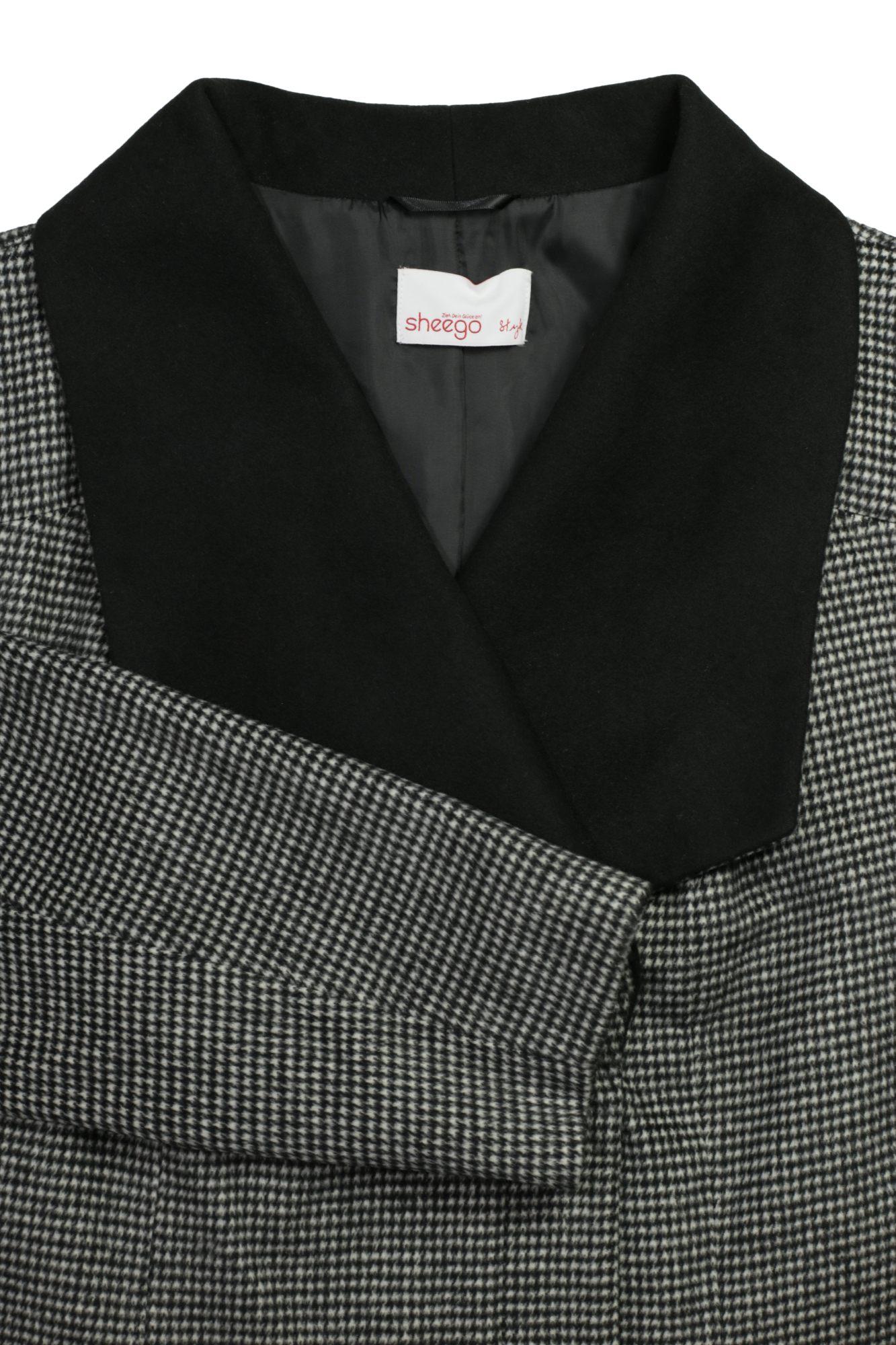 Kleidung & Accessoires sheego Kurzmantel Mantel Wintermantel