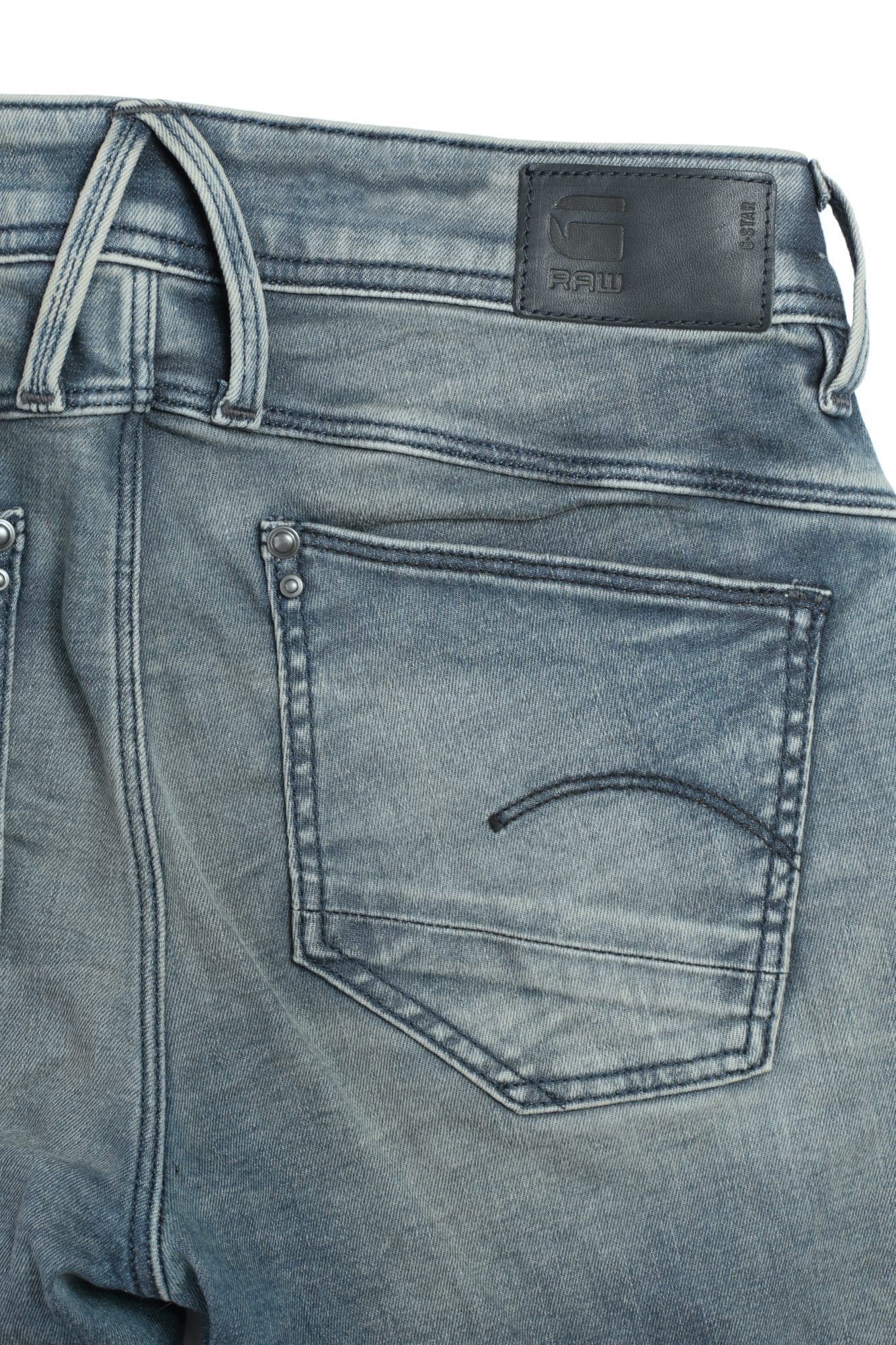 G STAR Lynn Mid Skinny WMN donna Raw Denim Jeans Pantaloni Pants Jeans A Sigaretta Stretch