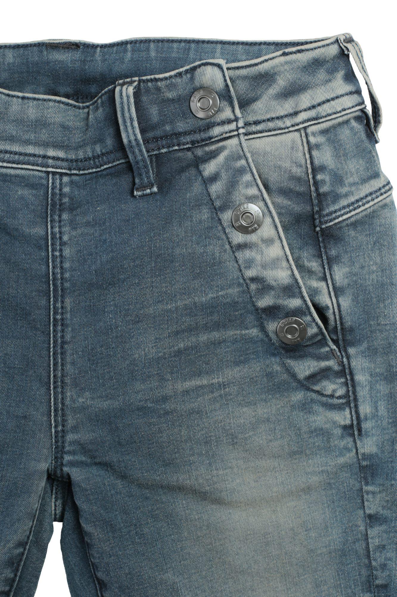 G Star Lynn Mid Skinny Wmn Damen Raw Denim Jeans Hose Pants Röhrenjeans Stretch