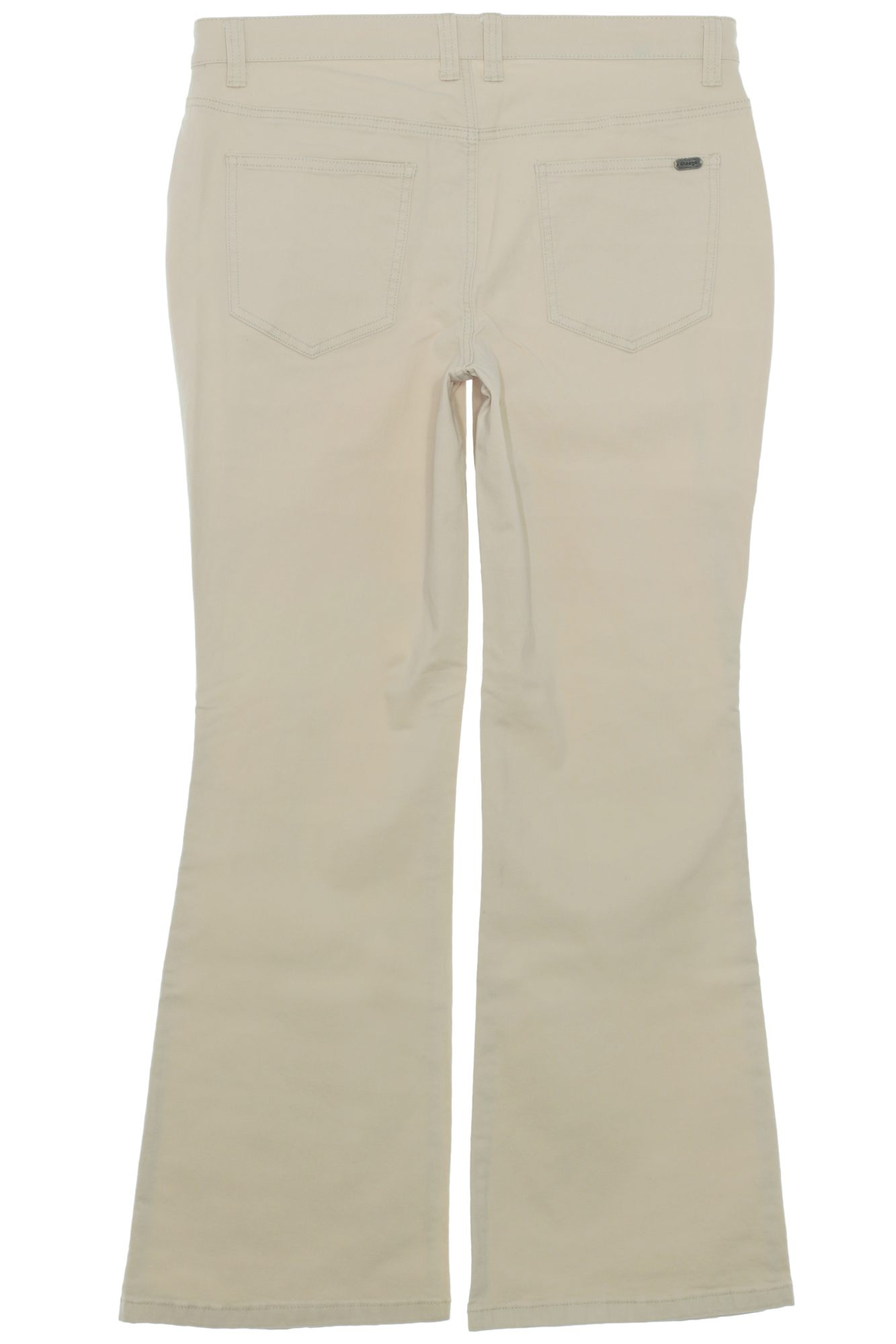 sheego Bootcut Twill Jeans Stretchjeans Damen Hose Blau Beige Plusgröße Oversize