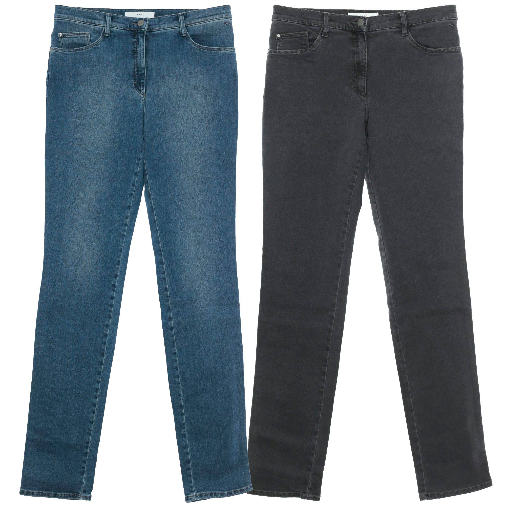 low price sale newest Details zu BRAX Mary Crystal Slim Fit Jeans Hose Pants Damen Stretch Denim  Swarovski L34