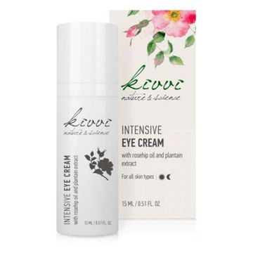 Intensive Augencreme  (Intensive Eye Cream with rosehip oil and plantain extract)