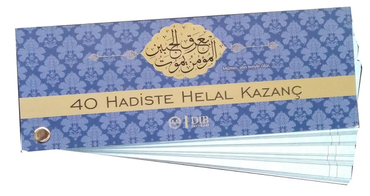 40 Hadiste Helal Kazanc ( Kartela )