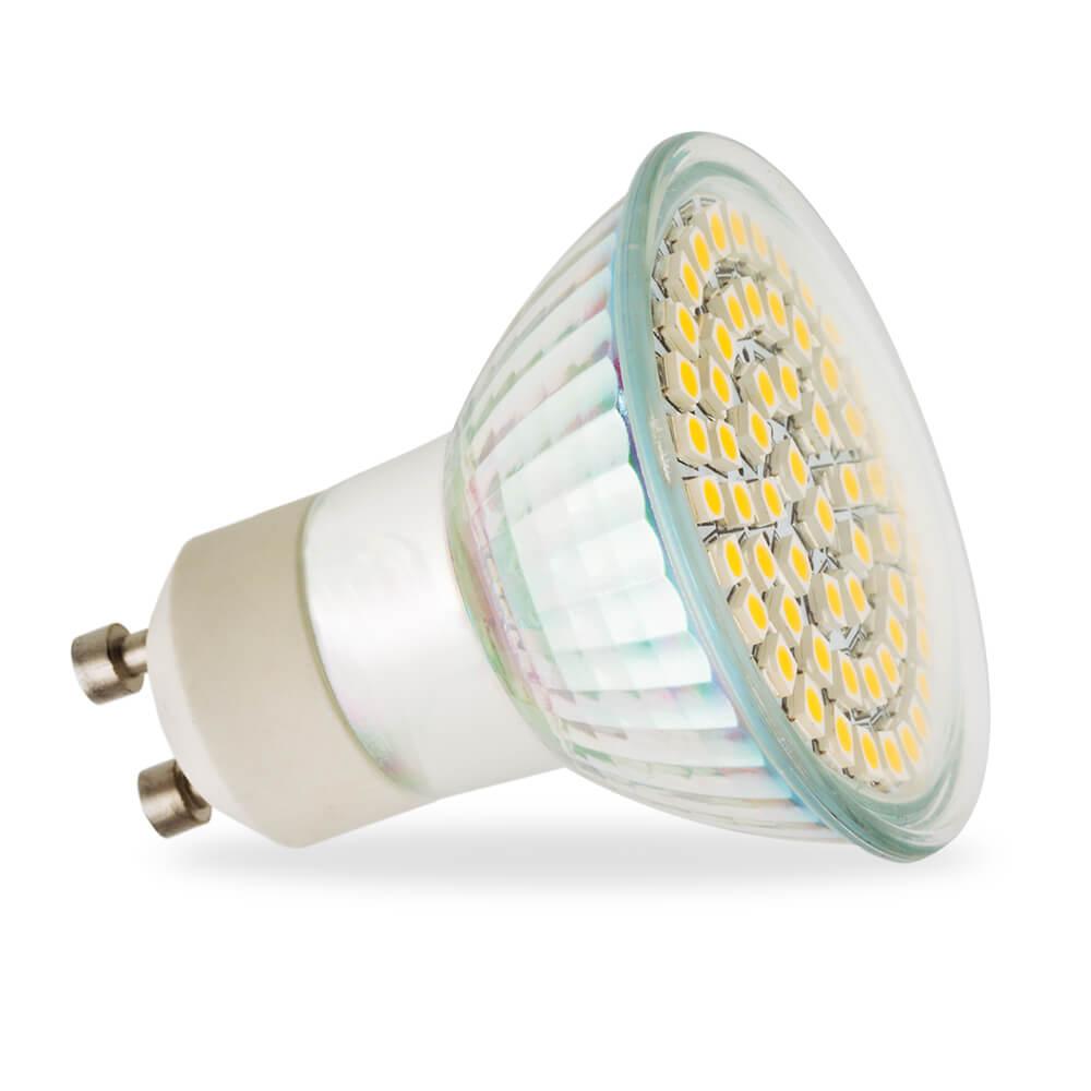 Fantastisch LED GU10 SMD5060 WARM WHITE