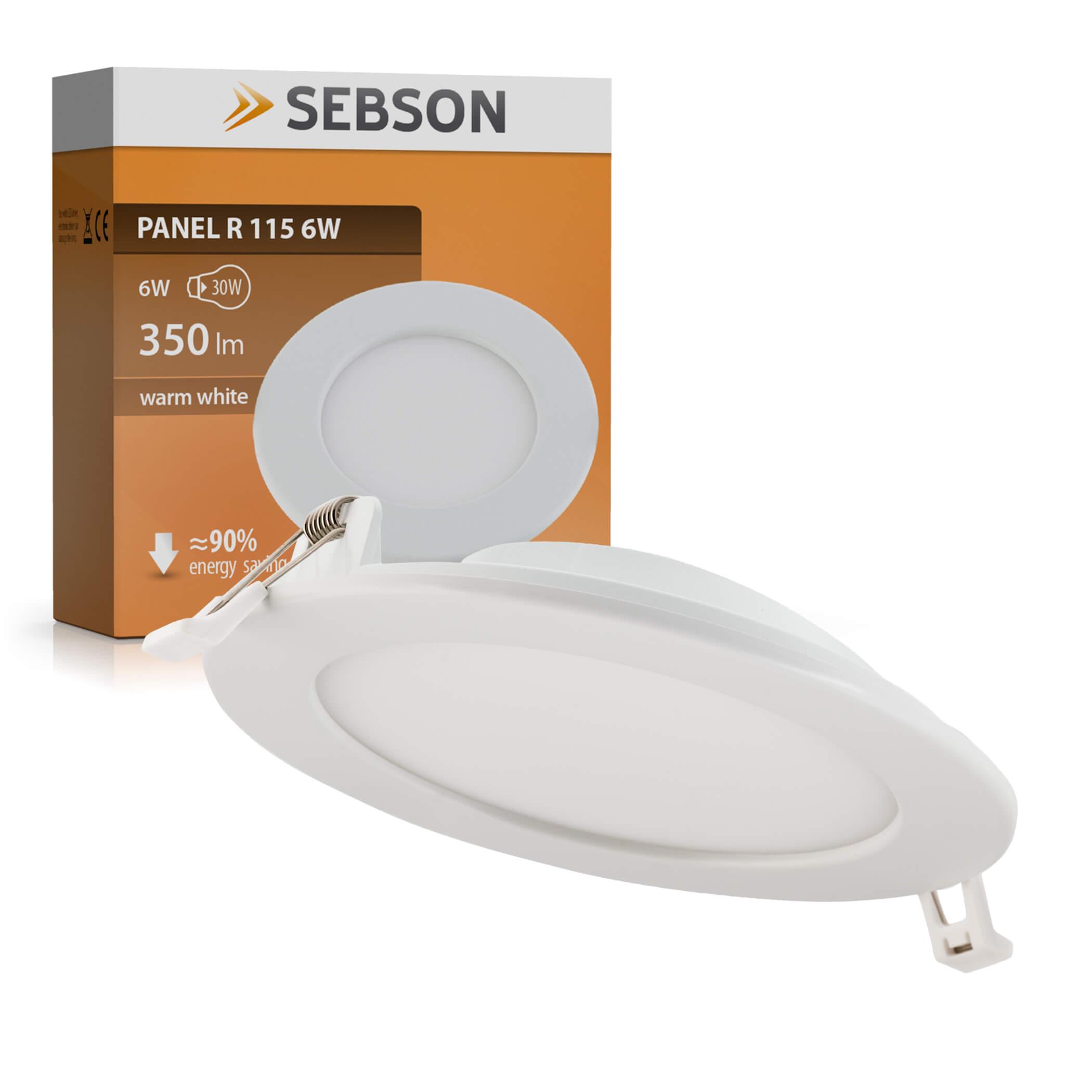 LED PANEL R115 6W