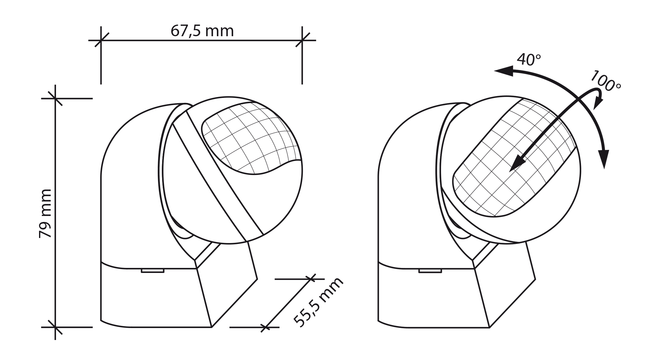 bewegungssensor bewegungsmelder aussen aufputz wanmontage infrarot sensor sebson ebay. Black Bedroom Furniture Sets. Home Design Ideas