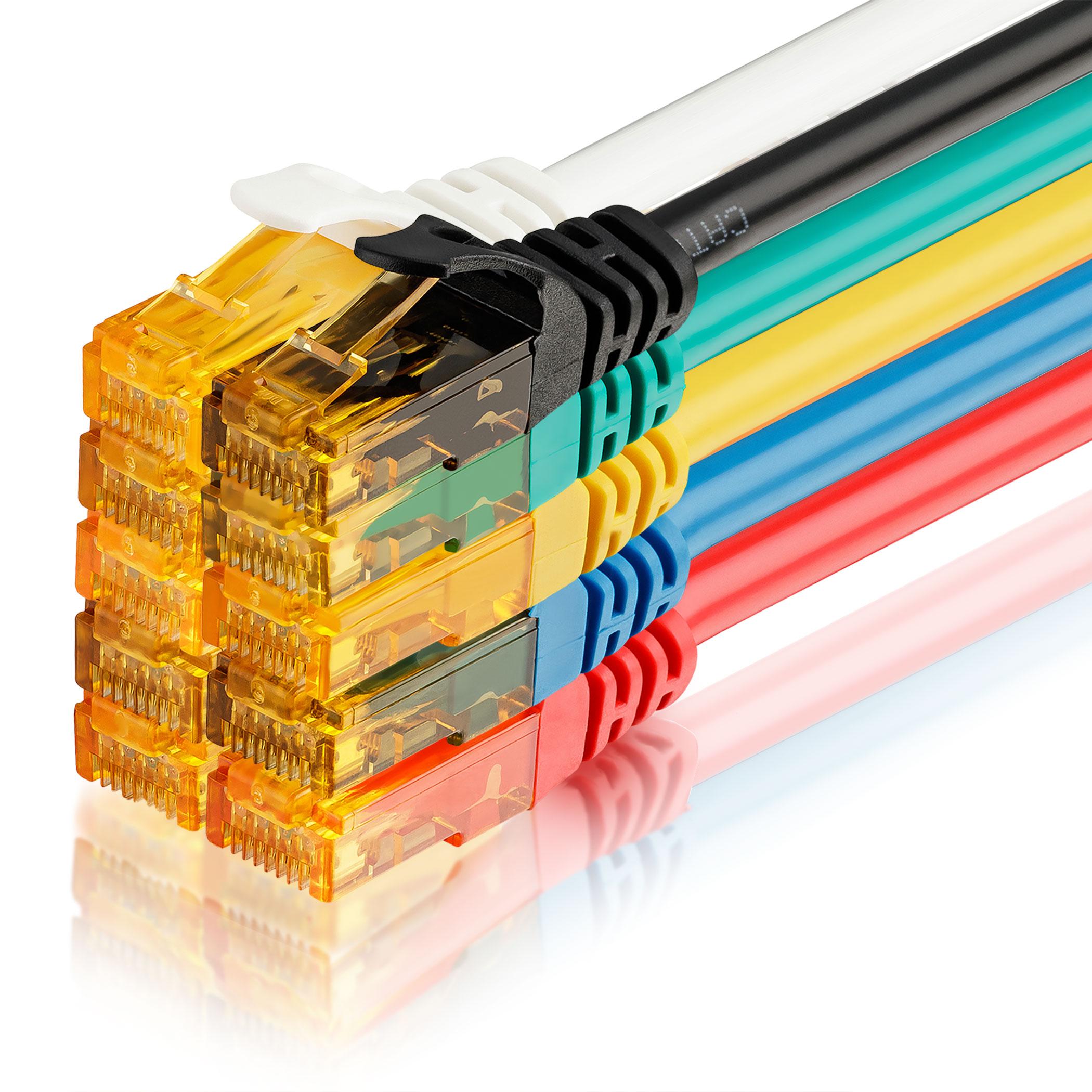10 Stk. CAT6 Ethernet Kabel 150cm