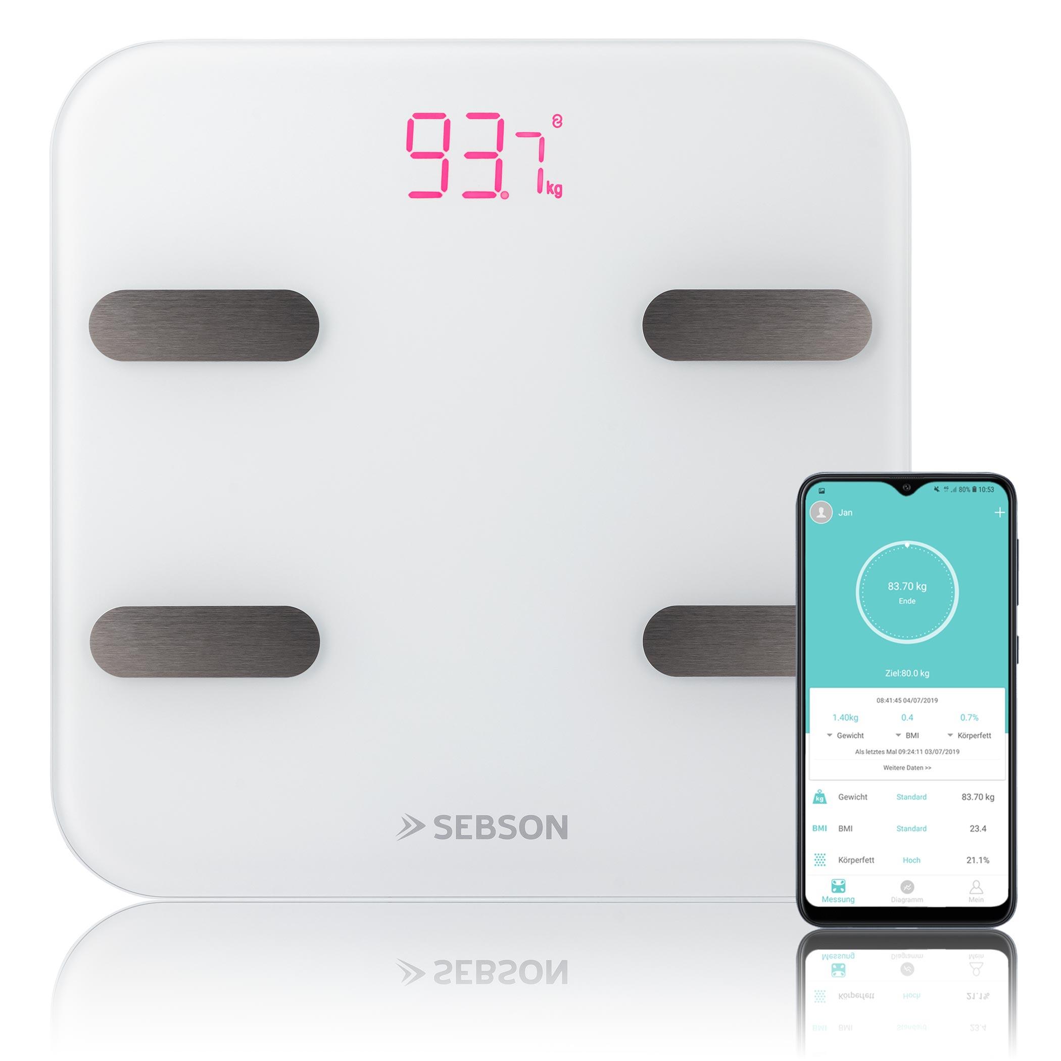 Digitale Personenwaage Bluetooth