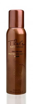 That`so Sun Makeup On-The-Go Dark Spray Tanning Makeup 125ml