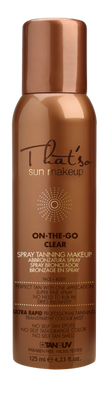 Detailbild zu That`so Sun Makeup ON-THE-GO CLEAR Spray Tanning Makeup 125ml