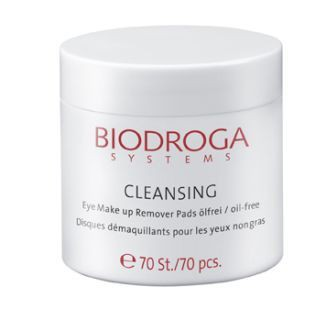 Biodroga Reinigung Eye Make Up Remover Pads -ÖLfrei-