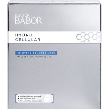 Doctor BABOR Hydro Cellular 3D Hydro Gel Face Mask 4X2stk