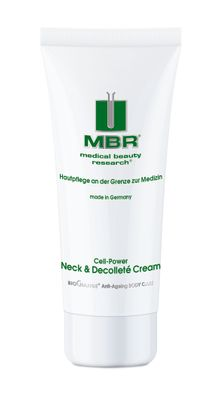 Mbr Biochange Anti Ageing Body Care Cell Power Neck & Decollete Cream 100ml