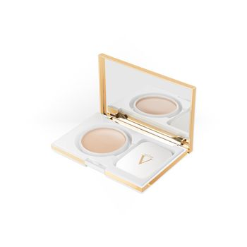 VALMONT PERFECTING POWDER CREAM FAIR PORCELAINE 10G