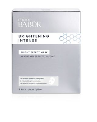 DOCTOR BABOR BRIGHTENING INTENSE BRIGHT EFFECT MASK 5 STÜCK