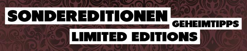 Geheimtipps - Limited Editions - Special Editions | DURCHSTARTEER
