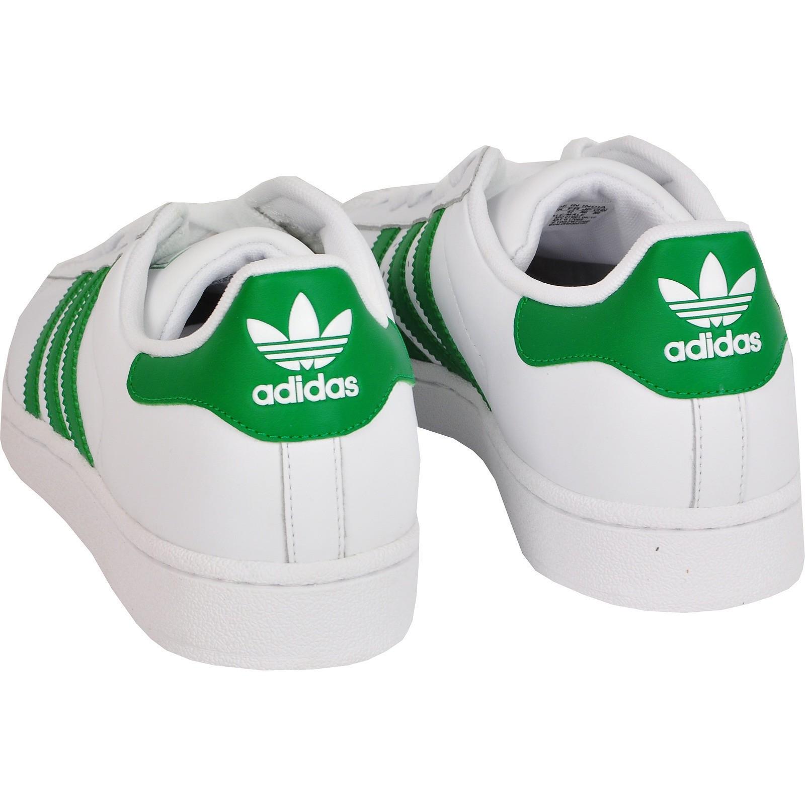 superstars adidas grün