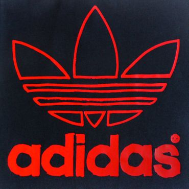 ADIDAS ORIGINALS Junior Trefoil Shirt - grau/rot – Bild 2