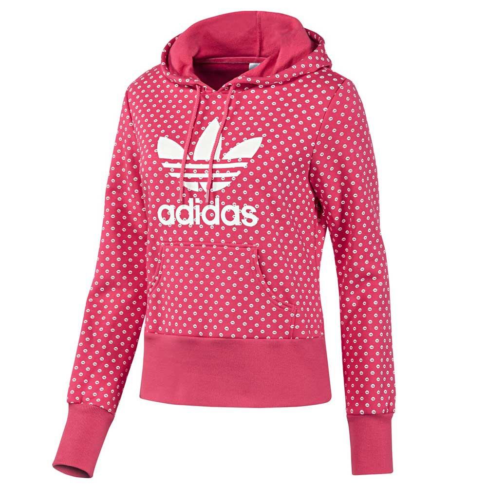 Details about Adidas Originals Womens Adi Trefoil Lips Hoodie Hooded Sweater Black White show original title