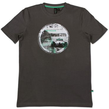 MERCEDES AMG PETRONAS Fan Graphic Shirt - grau – Bild 1