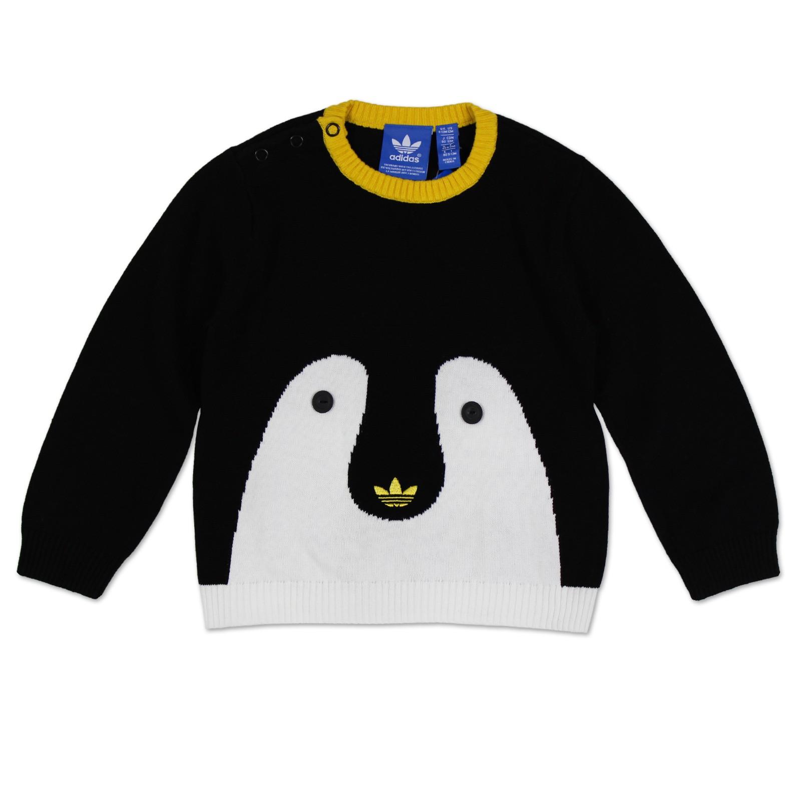 Pullover in Schwarz von adidas für Jungen