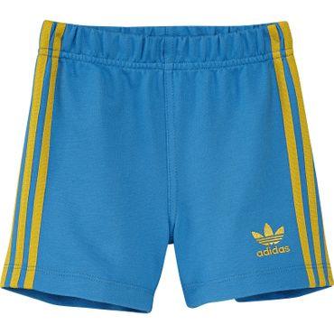 ADIDAS ORIGINALS Kinder Fun Shorts - blau/gelb oder grau/rosa  – Bild 3