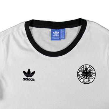 ADIDAS ORIGINALS DFB Trikot 1974 - weiß/schwarz – Bild 3