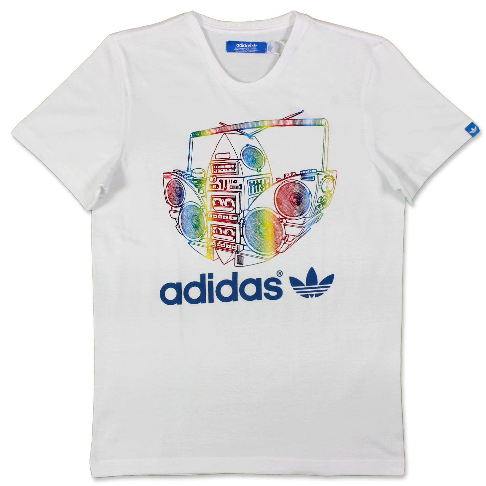 Details about Adidas Originals Trefoil Tee Mens Casual 80er T Shirt Special Edition XS XXL show original title