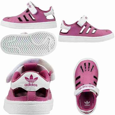 ADIDAS ORIGINALS Superstar Sandalen - lila – Bild 3