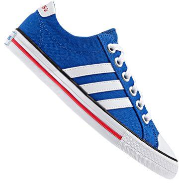 ADIDAS NEO VL 3 stripes Schuhe - blau/weiß – Bild 1